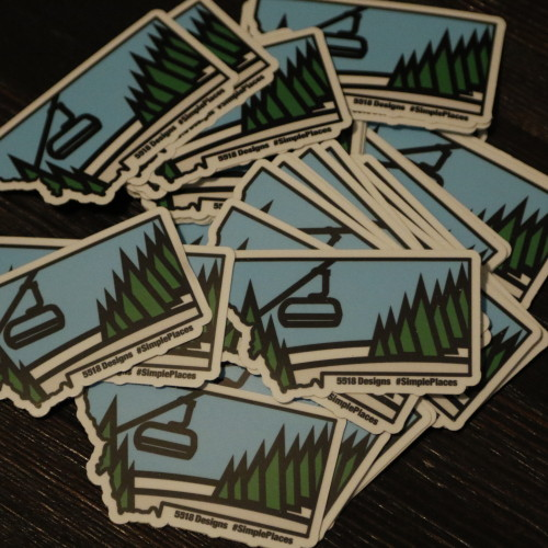 MedicineRidge Montana Stickers