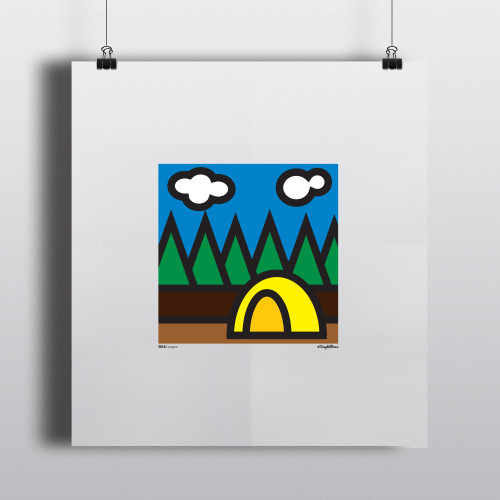 Art Print BaseCamp
