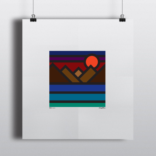Art Print SunsetLake