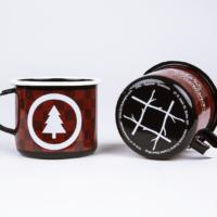 5518 Designs enamel camping mug