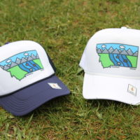 SimplePlaces RiverBend Trucker Hat