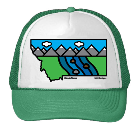 5518 Designs RiverBend Green hat proof