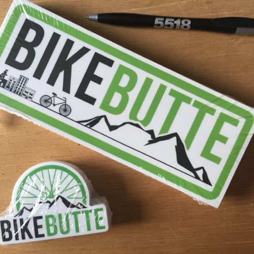 Bike Butte Stickers