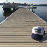 5518 Designs Simple Places Trucker Hat