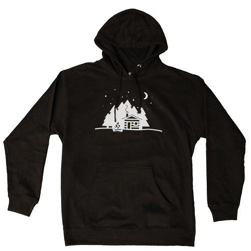 5518 Cabin Night Hoodie Sweatshirt