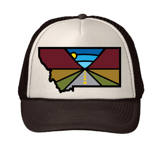 Highway Brown hat