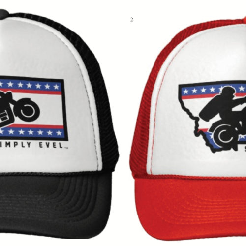 Simply Evel Trucker Hat Options 2